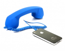 Ретро-трубка на телефон