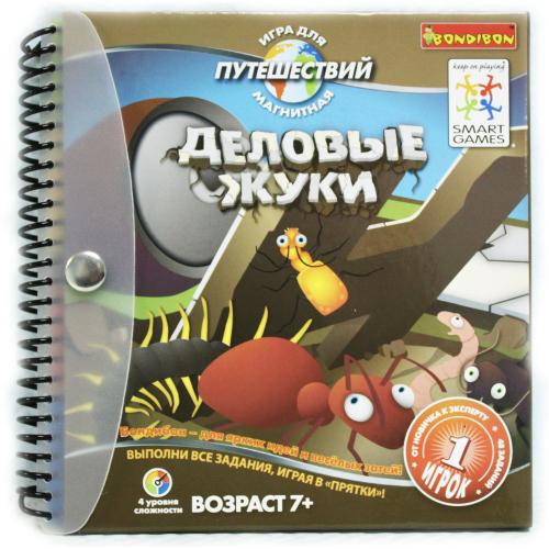 """Магнитная игра Bondibon """"Деловые жуки"""""""