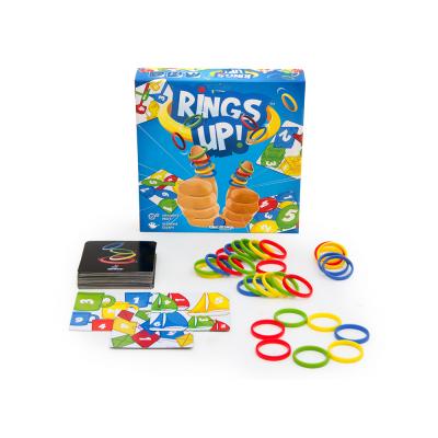 Разноцветные колечки (Rings Up) настольная игра