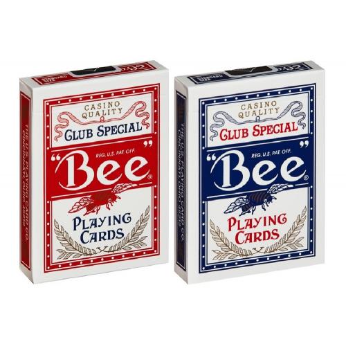 """Карты игральные """"Bee"""" 56 профессиональные"""