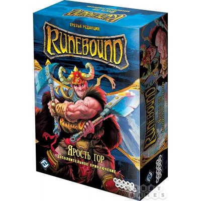 """Runebound.  Дополнение """"Ярость гор"""""""