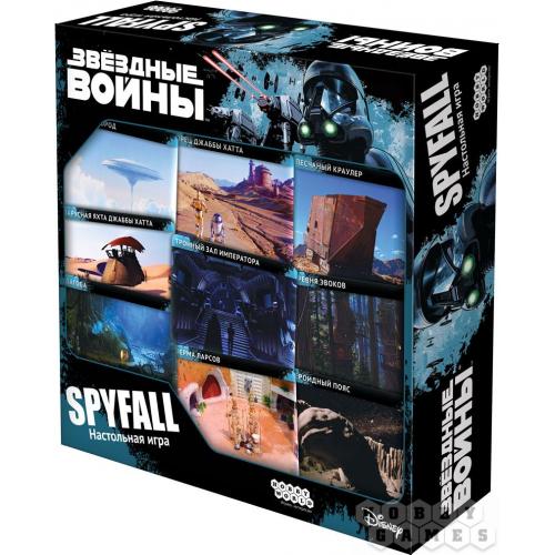 Звёздные Войны: Spyfall настольная игра