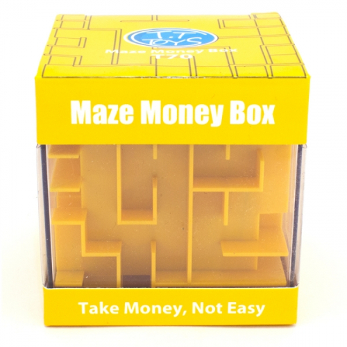MAZE MONEY BOX PUZZLES