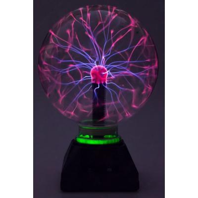 Плазменный шар светильник тесла