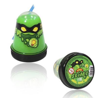 Лизун Slime Ninja светится в темноте