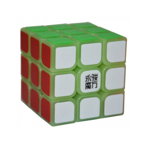Кубик 3х3 YJ Sulong светящийся