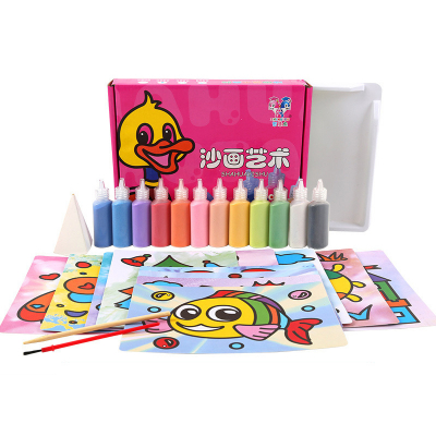 Набор для рисования песком (12 штук)