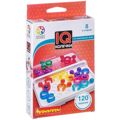 Настольная игра-головоломка IQ-Колечки