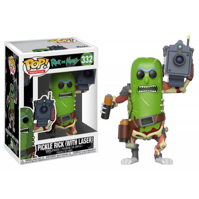 Фигурка Funko Rick & Morty: Pickle Rick(with laser)