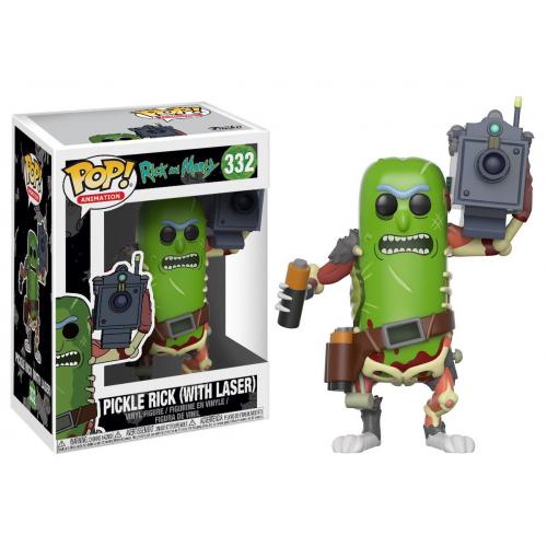 Фигурка Funko Rick & Morty: Pickle Rick(with laser)