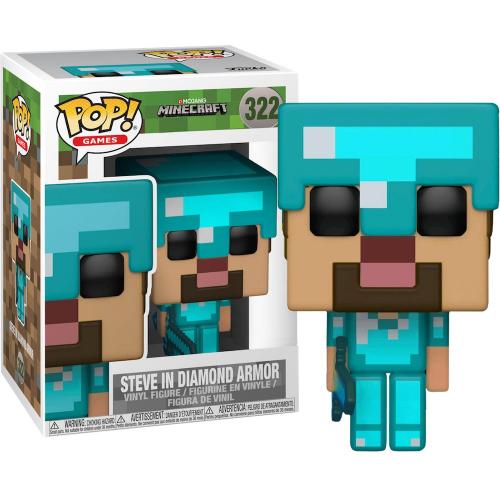 Фигурка Funko Minecraft - Steve in Diamond Armor