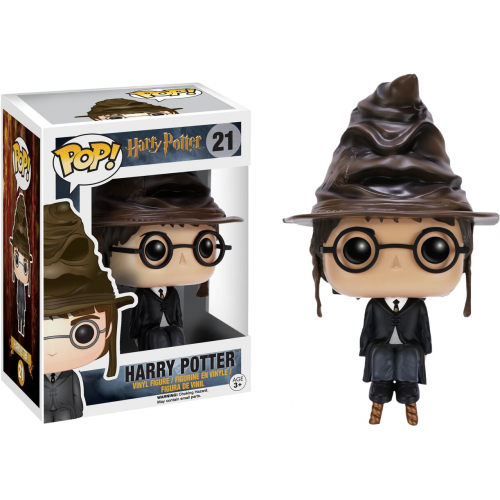 Фигурка Funko Harry Potter with Sorting Hat