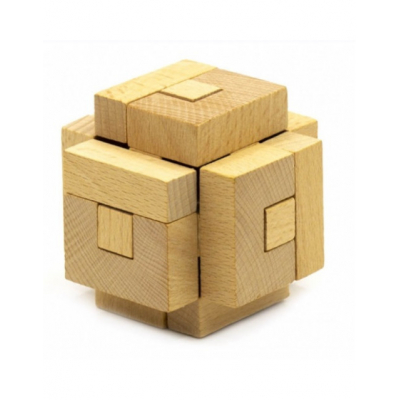 Деревянная головоломка Machine lock