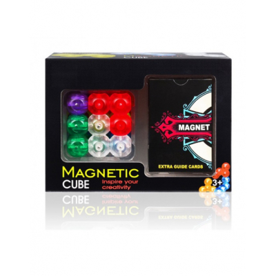 Конструктор round magnetic building blocks cube
