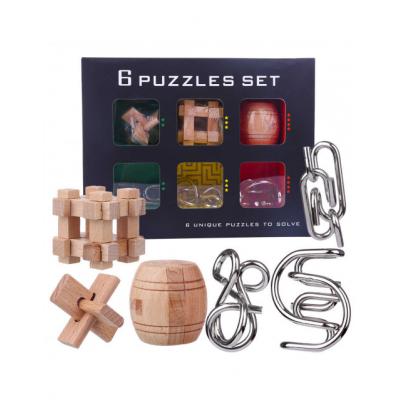 Набор головоломок Set of 6 puzzle combination 2