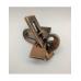 Металлическая головоломка Plane gift box