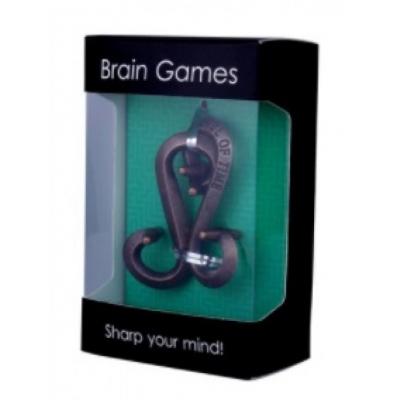 Металлическая головоломка Буквы S gift box