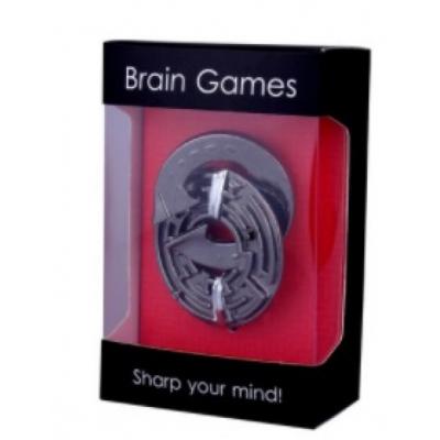 Металлическая головоломка Лабиринт gift box
