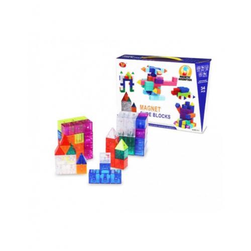 Конструктор Magic block DIY set 34 pcs