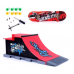 Finger Skateboard with Ramp Parts