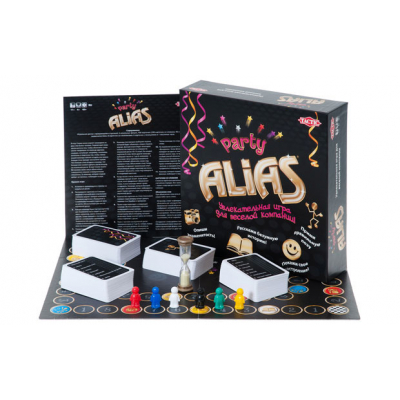 Алиас (Alias, элиас) Вечеринка