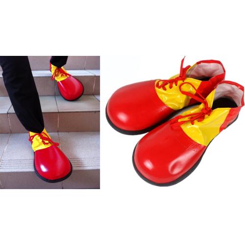 Клоунские ботинки-красные.