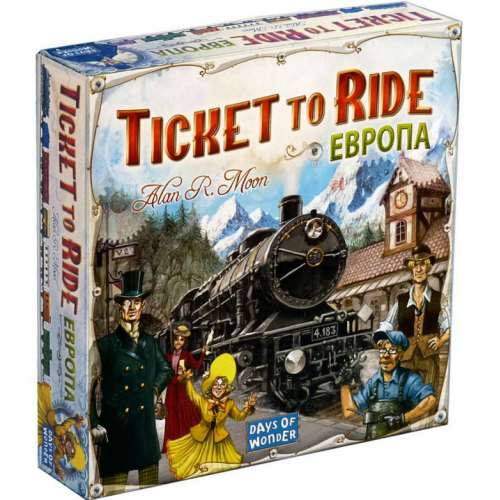 Билет на поезд: Европа (Ticket to Ride) настольная игра