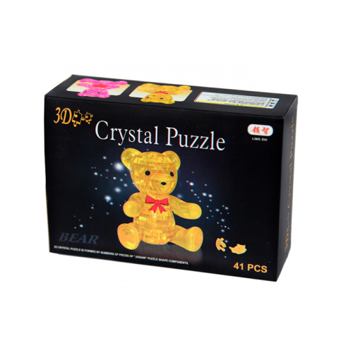 3Д пазл (crystal puzzle 3d) Мишка