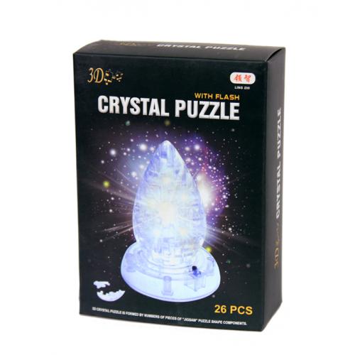 3Д пазл (crystal puzzle 3d) Капля