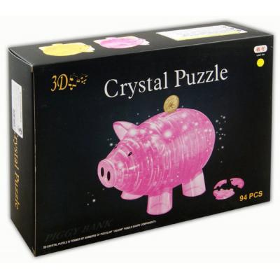 3Д пазл (crystal puzzle 3d) Копилка свинья