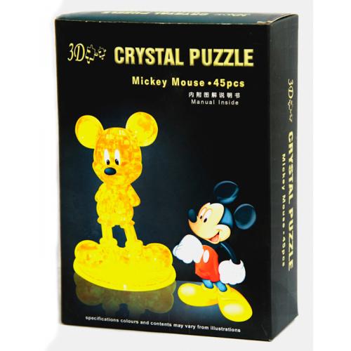 3Д пазл (crystal puzzle 3d) Микки Маус