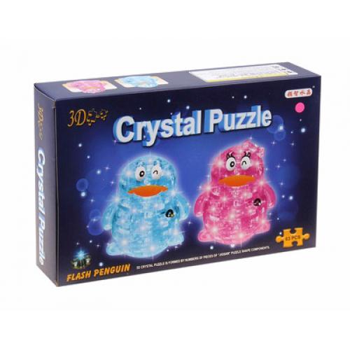 3Д пазл (crystal puzzle 3d) Пингвин