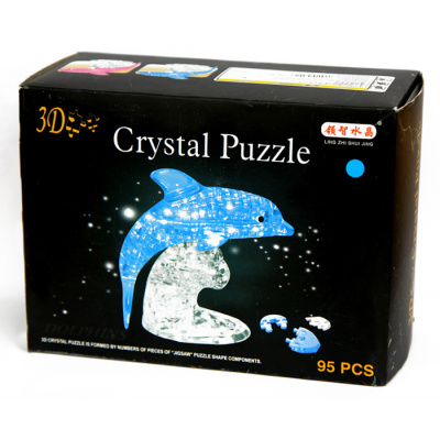 3Д пазл (crystal puzzle 3d) Дельфин