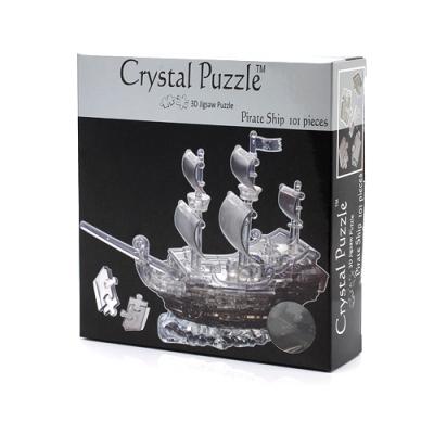 3Д пазл (crystal puzzle 3d) Корабль