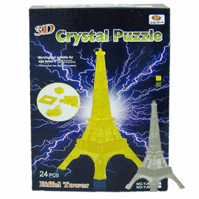 3Д пазл (crystal puzzle 3d) Эйфелева башня