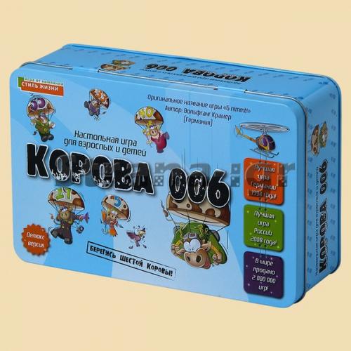 Корова 006 настольная игра