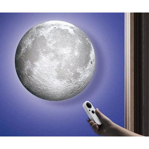 светильник луна с пультом управления
