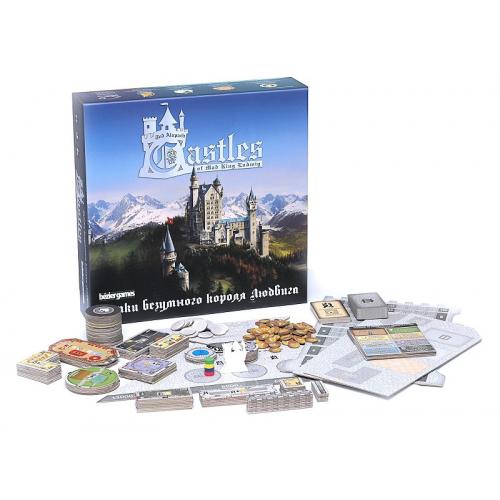 Замки безумного короля Людвига настольная игра