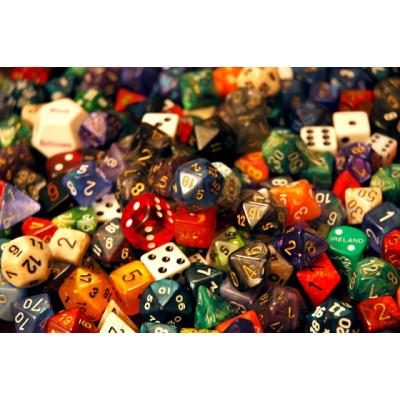 Кубики игральные (дайсы), dice, D&D, протекторы