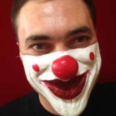 Маска Клоун (полумаска)
