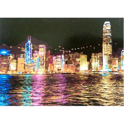 Картина по номерам Гонконг