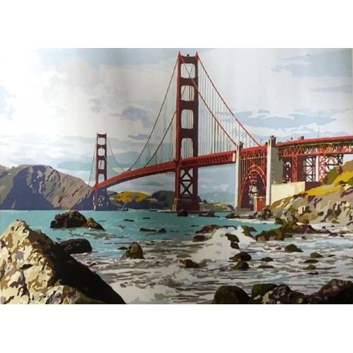 Картина по номерам Мост Сан-Франциско