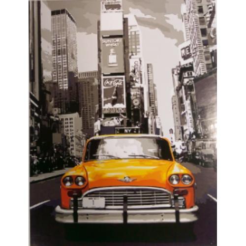 Картина по номерам Такси