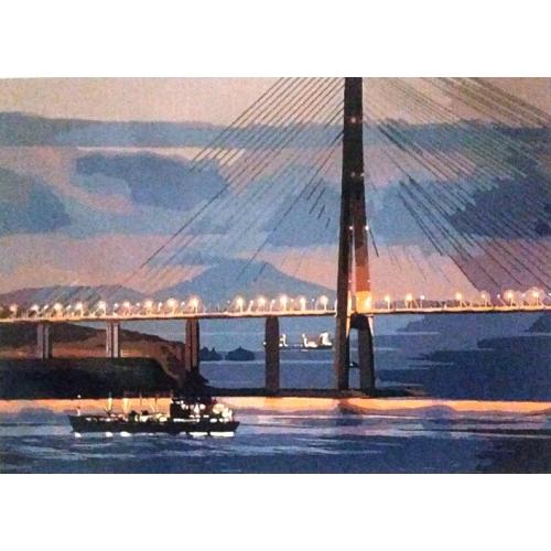 Картина по номерам Русский мост