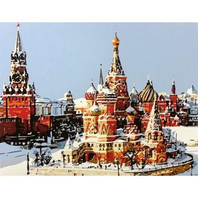 Картина по номерам Кремль