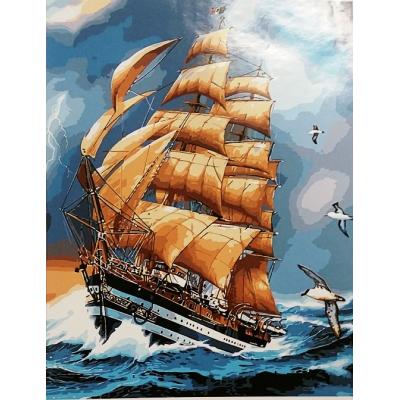 Картина по номерам На парусах
