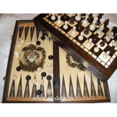 Шахматы 3 в 1, №179