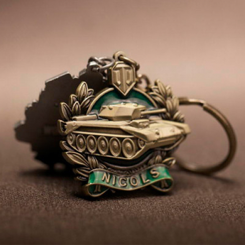 Брелок world of Tanks (Nicols)