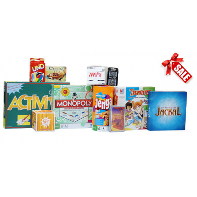 Настольные игры и подарки по акции