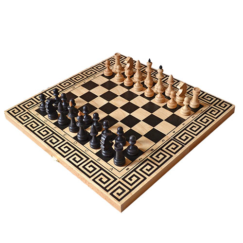 Шахматы (3 в 1 шахматы,шашки,нарды)